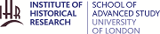 Institute of Historical Research, School of Advanced Study, University of London logo