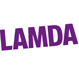 LAMDA (London Academy of Music and Dramatic Art) logo